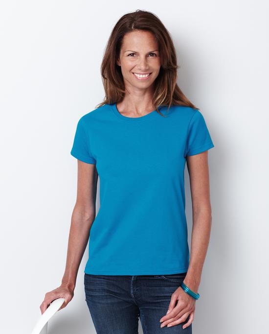 Gildan style 2000l ultra cotton ladies classic fit t shirt for Gildan t shirt styles