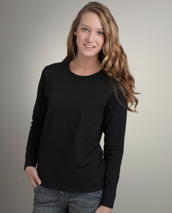 Gildan Style 2400L Ultra Cotton Ladies Classic Fit Long Sleeve T-Shirt