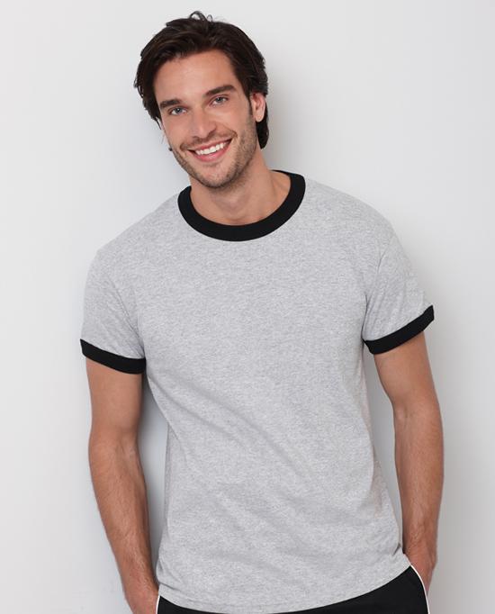 Gildan style 2600 ultra cotton adult ringer t shirt four for Gildan t shirt styles