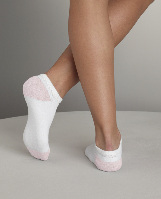 Style GL511 Girl's No Show Socks