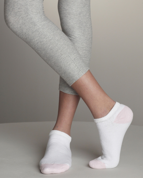 Style GL611 Ladies No Show Socks